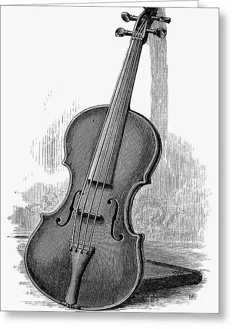 Stainer Violin Greeting Card