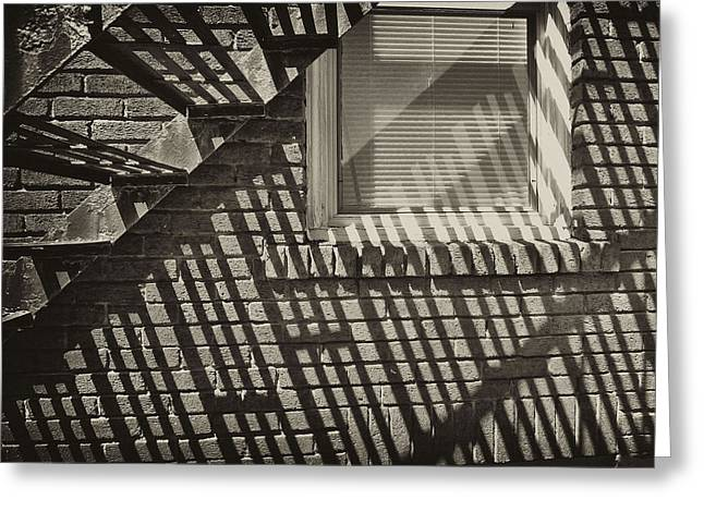 Stair Shadow Greeting Card