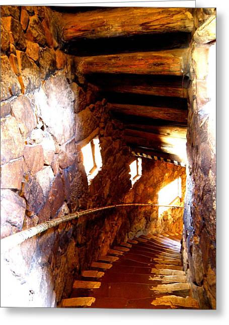 Stairs 1 Greeting Card by Tanya  Searcy