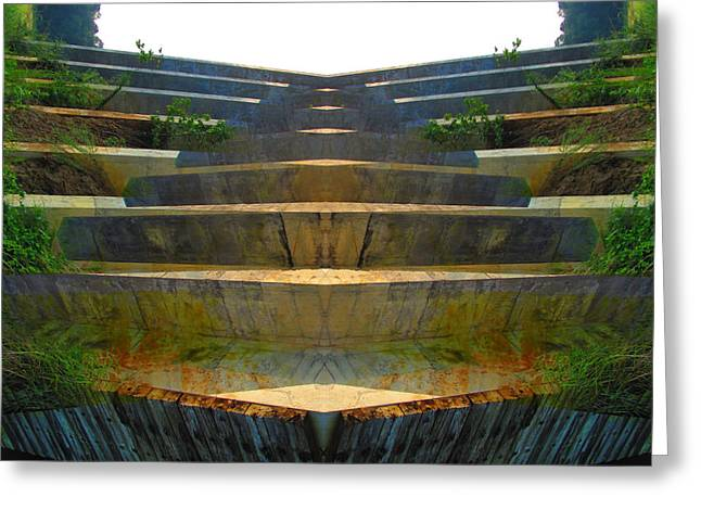 Stairs Greeting Card by Michele Caporaso