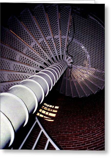 Stairs To The Light Greeting Card
