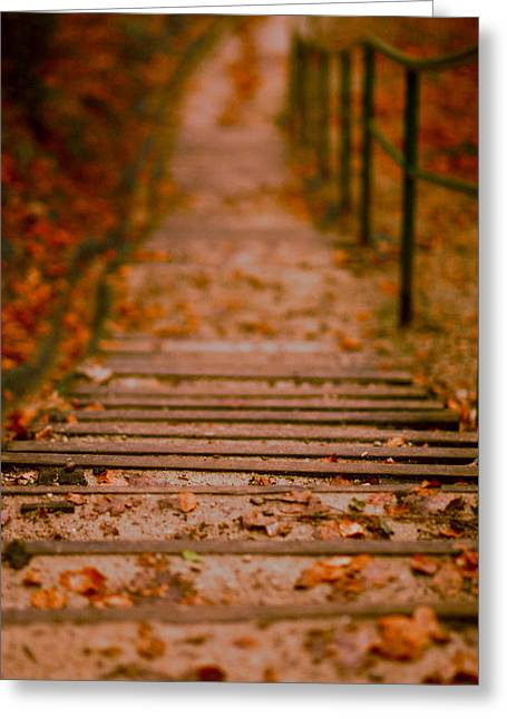 Stairs Greeting Card by Vail Joy