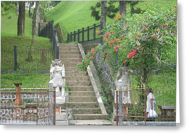 Stairway Of Beauty Greeting Card by Shawn Hughes