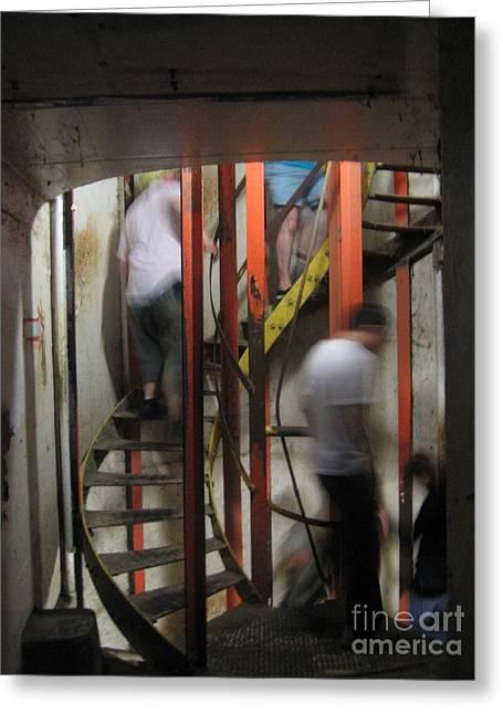 Stairway To Diamondhead Greeting Card by Joe Finney