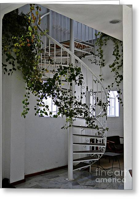 Stairway To Heaven Greeting Card by Al Bourassa