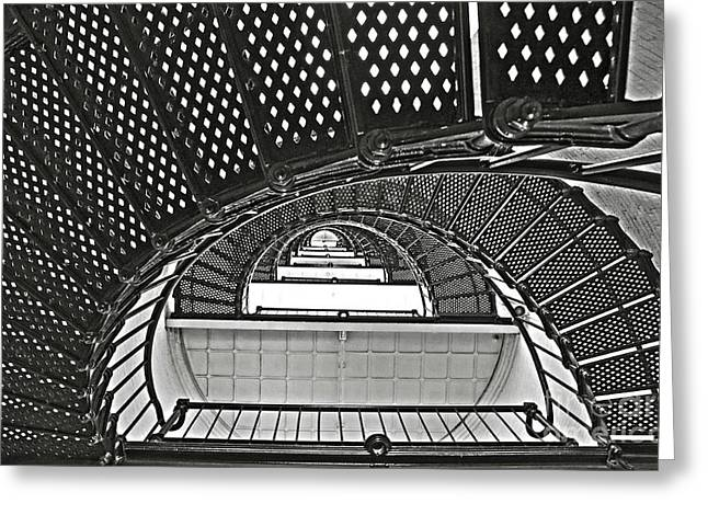 Stairway To Light Greeting Card