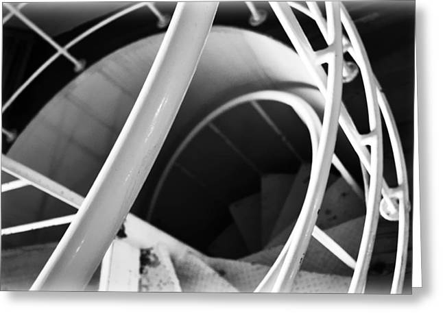 Stairway To Nowhere Greeting Card by Kevin Lilly