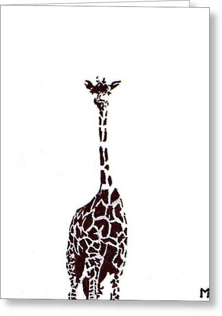 Standing Tall Greeting Card by Matthew Formeller