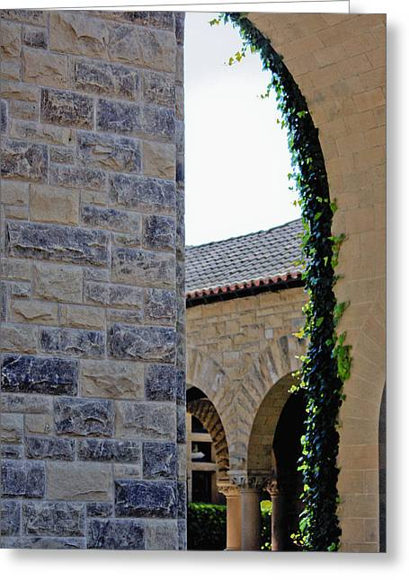 Stanford Memorial Court Arch Greeting Card