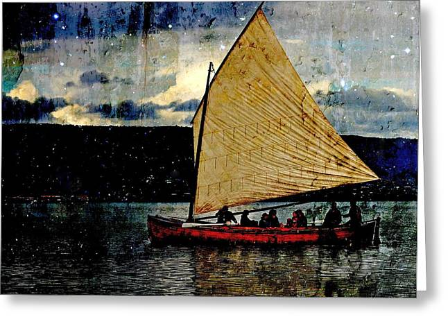 Greeting Card featuring the photograph Star Ship by Michele Cornelius