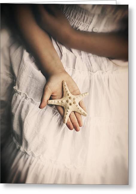 Starfish Greeting Card by Joana Kruse