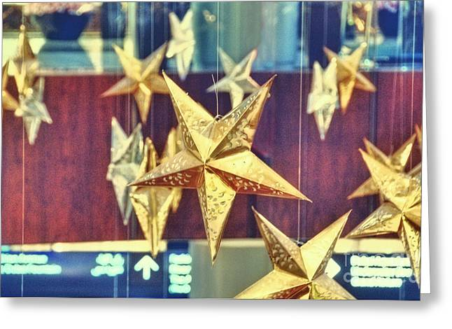 Stars Greeting Card by Charuhas Images
