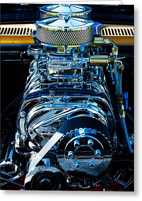 Start Your Engines Greeting Card by Melissa Wyatt