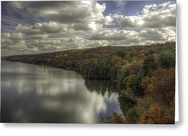 Starved Rock Fall Colors Greeting Card