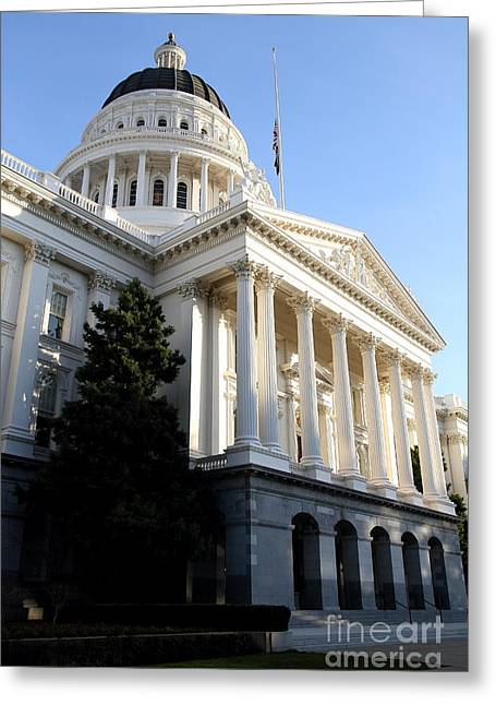 State Of California Capitol Building . 7d11771 Greeting Card
