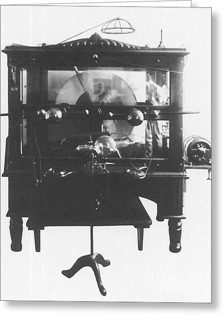 Static Electric Machine With X-ray Greeting Card by Science Source