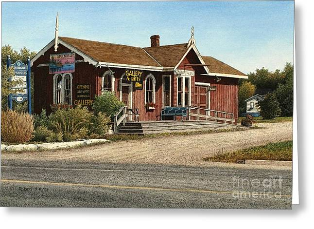 Station Gallery Fenelon Falls Greeting Card