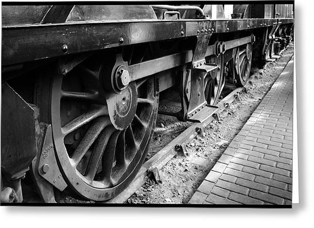 Steam Preserved Greeting Card by Jacqui Collett