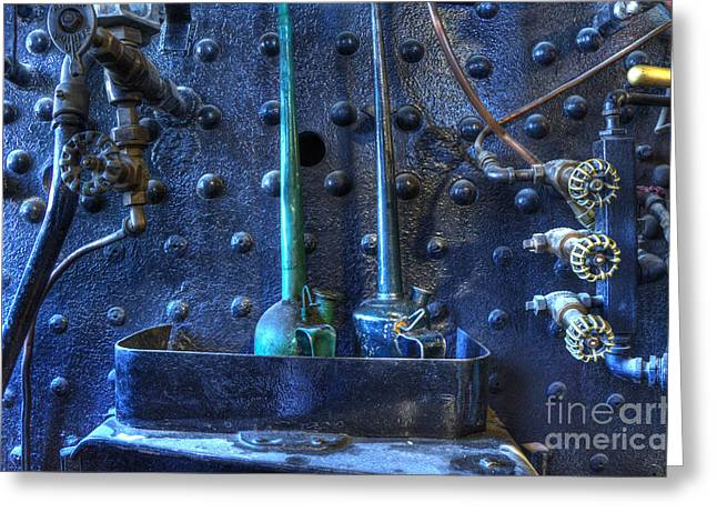 Steampunk 3 Greeting Card by Bob Christopher