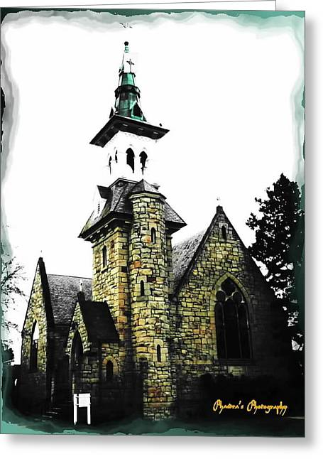 Greeting Card featuring the photograph Steeple Chase 2 by Sadie Reneau