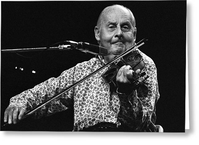 Stephane Grappelli 1 Greeting Card