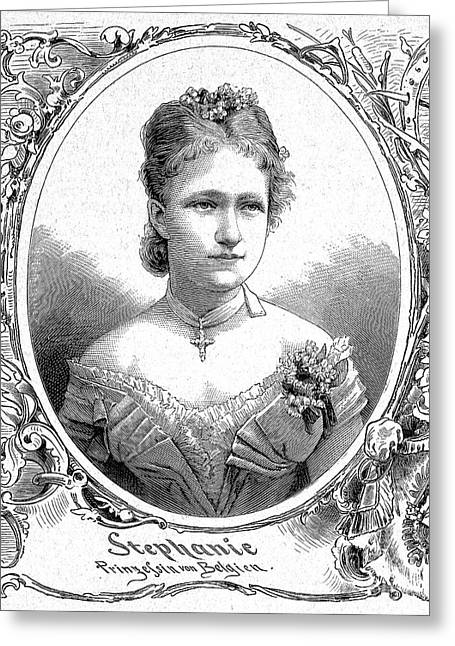Stephanie (1864-1945) Greeting Card by Granger