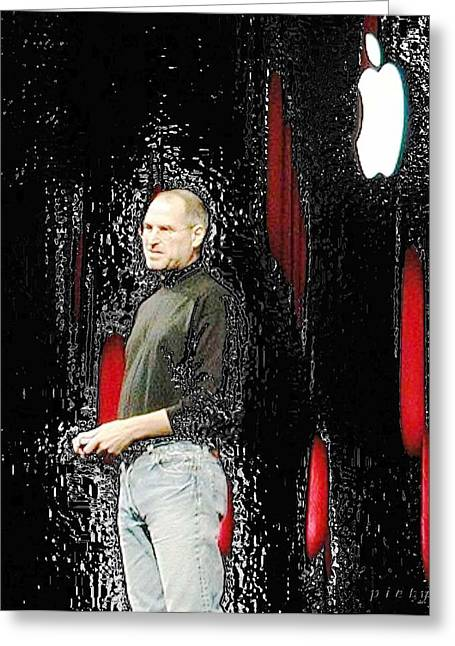 Steve Jobs 4 Greeting Card