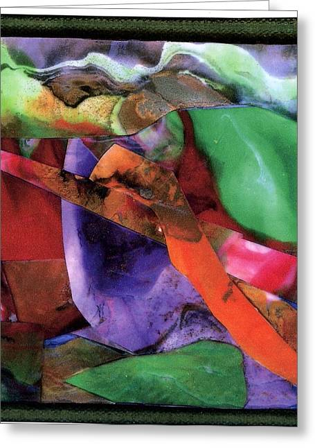 Sticks And Stones Greeting Card by Seaon Ducote