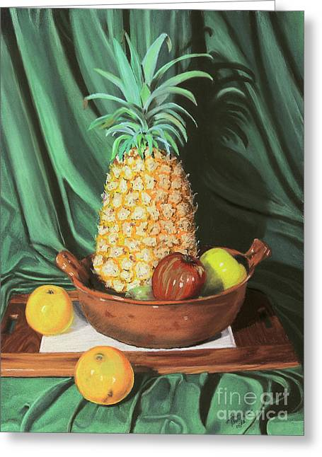 Still Life 1 Greeting Card by Jim Barber Hove