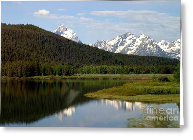 Still Waters Greeting Card by Living Color Photography Lorraine Lynch