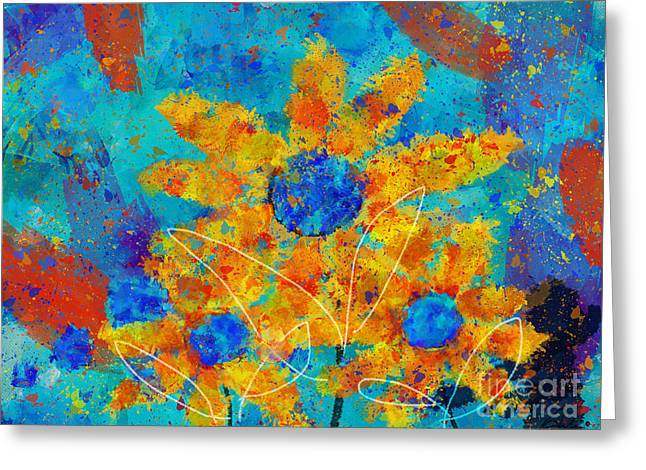 Stimuli Floral S01 Greeting Card