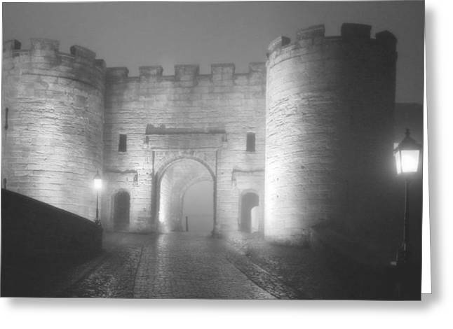 Stirling Scotland - Now That's A Castle Greeting Card by Christine Till