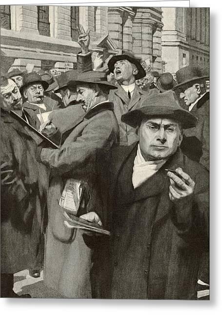 Stock Exchange, New York City Greeting Card