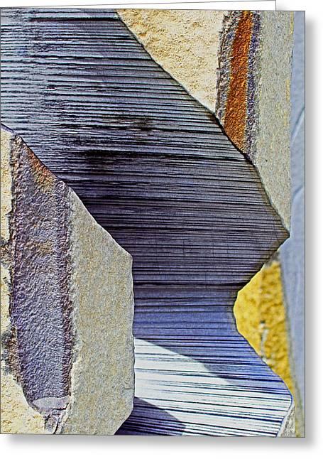 Stone Geometrics Greeting Card