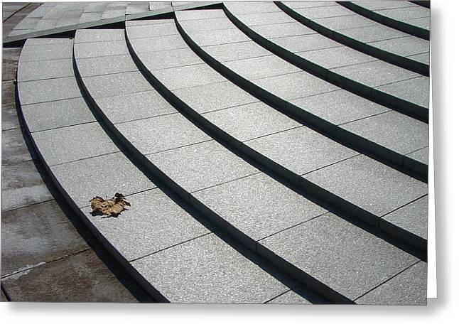 Stone Steps_pyeongchon Park_anyang_south Korea Greeting Card by Jon William Lopez