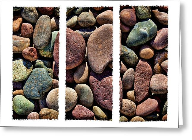 Stone Triptych Greeting Card