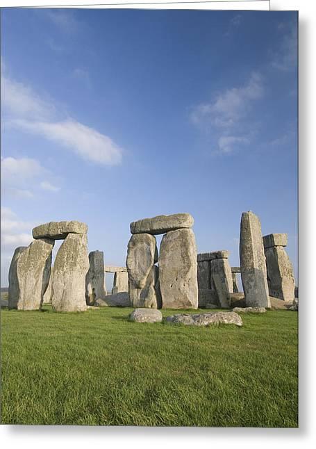 Stonehenge Greeting Card by Gloria & Richard Maschmeyer