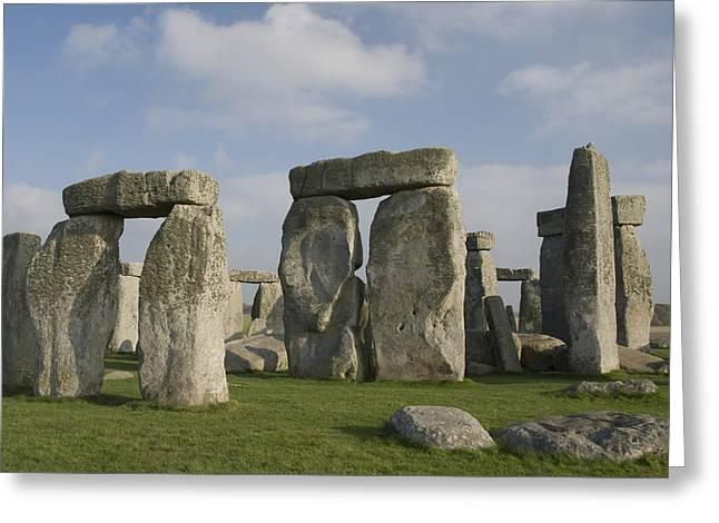 Stonehenge IIi Greeting Card by Gloria & Richard Maschmeyer