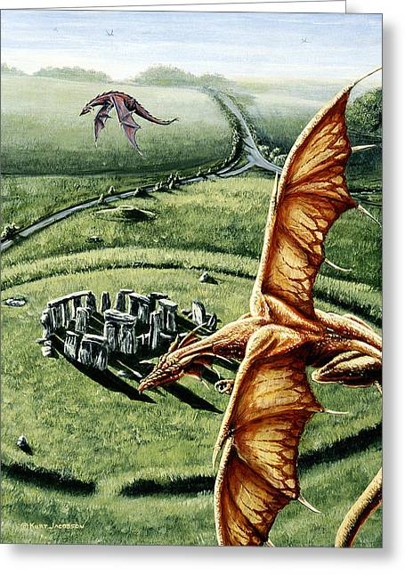 Stonehenges Call Greeting Card