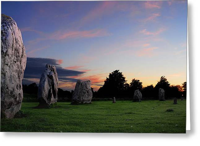 Greeting Card featuring the photograph Stonehenge's Older Brother  by John Chivers