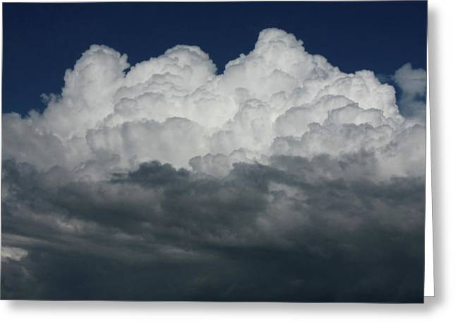 Storm Front Greeting Card by David Paul Murray
