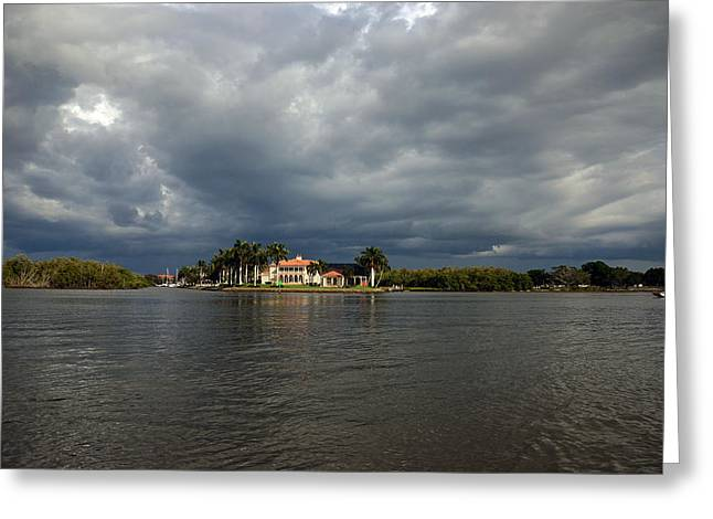 Storm On The Gordon River Greeting Card