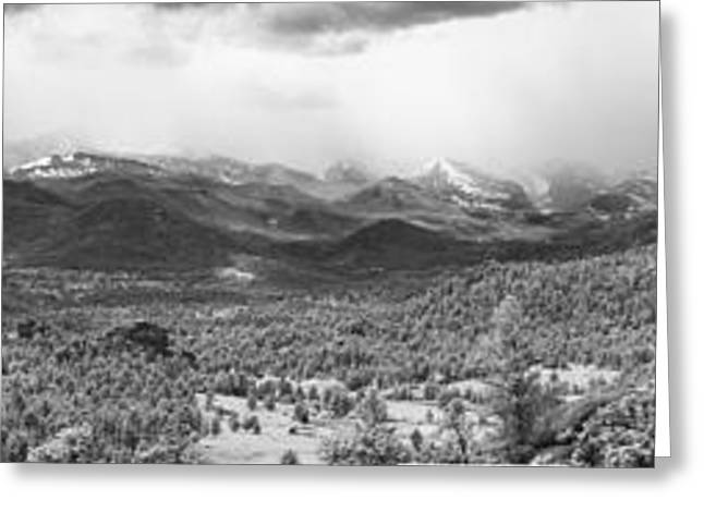Storm On The Rockies Greeting Card by G Wigler