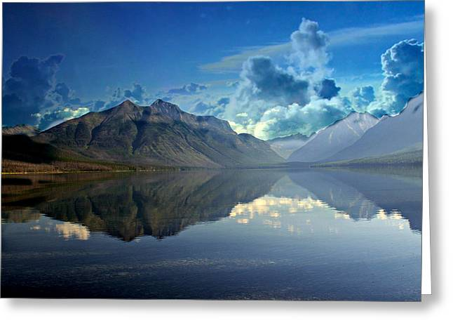 Stormy Lake Greeting Card by Marty Koch