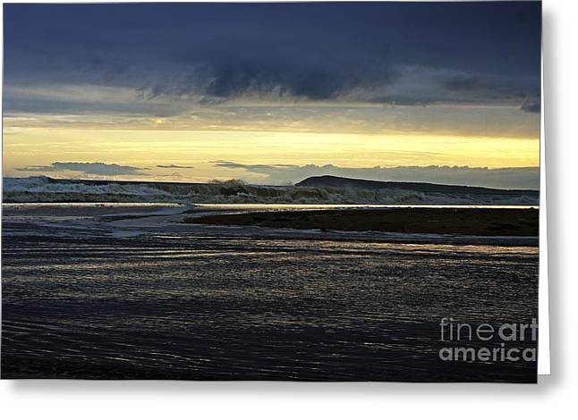 Greeting Card featuring the photograph Stormy Morning 2 by Blair Stuart