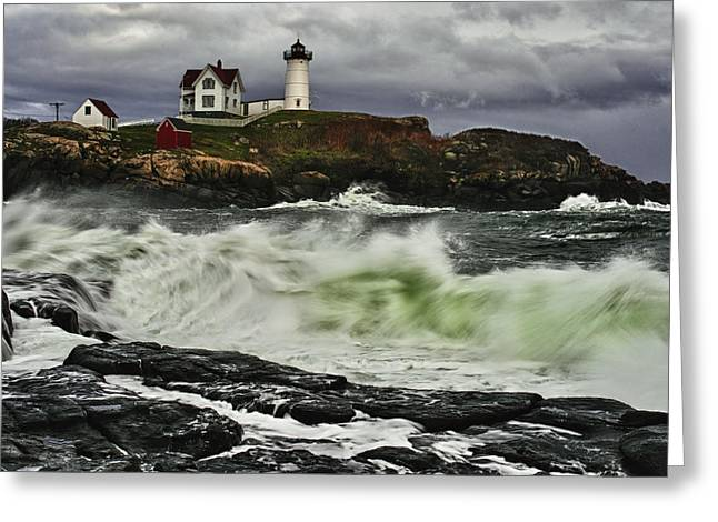Stormy Tide Greeting Card