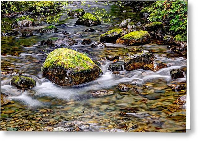 Stream Hdr Greeting Card