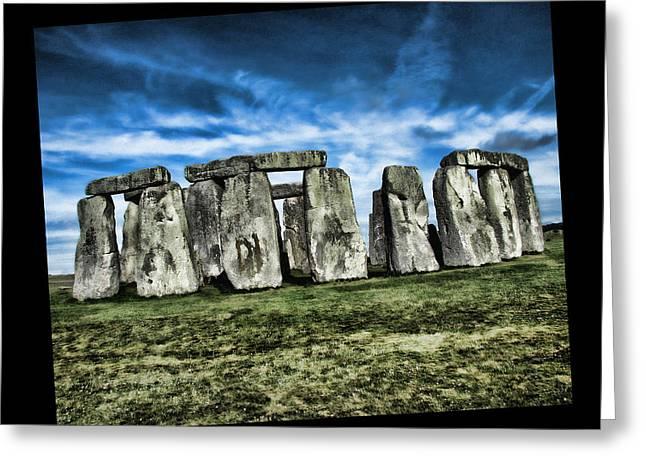 Striking Scene Of Stonehenge Greeting Card