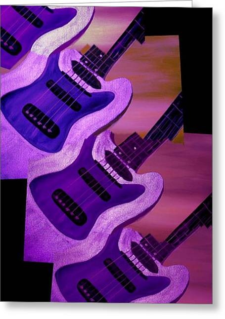 Strings Greeting Card by Mark Moore