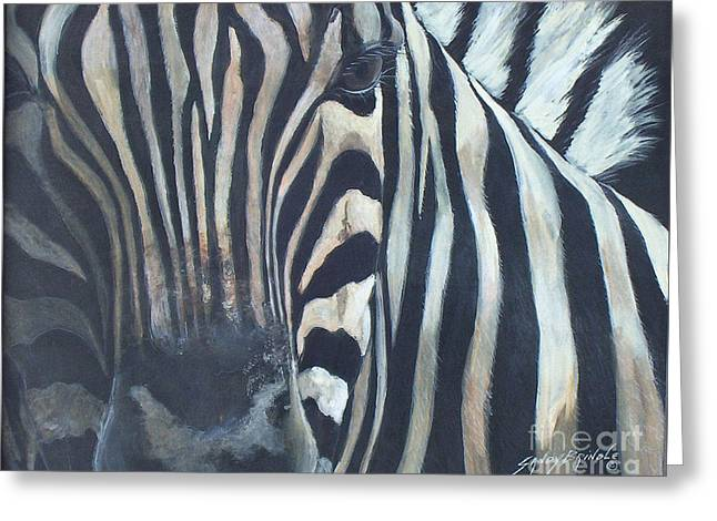 Stripes...sold  Greeting Card
